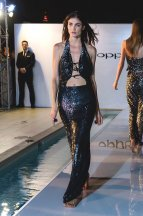 Model Joanne Nicolas - Oppo R7 phone launch with Americas Next Top Model.