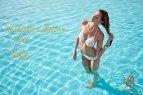 Lillyberry swimwear campaign Model Joanne Nicolas