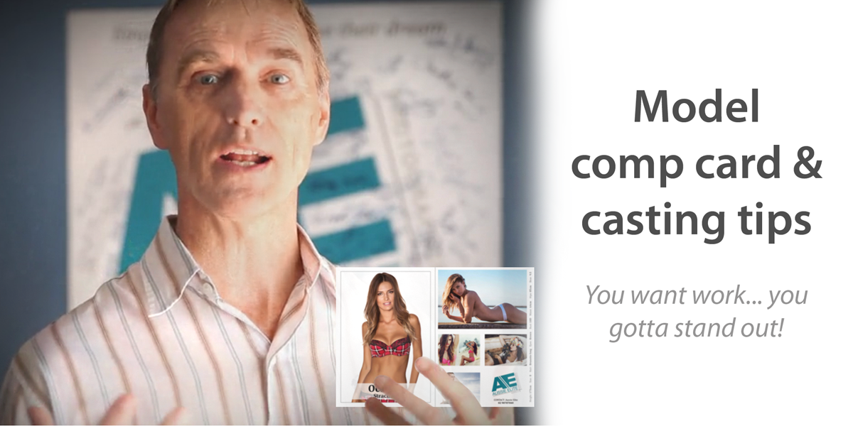 Model comp cards and casting tips | Aussie Elite
