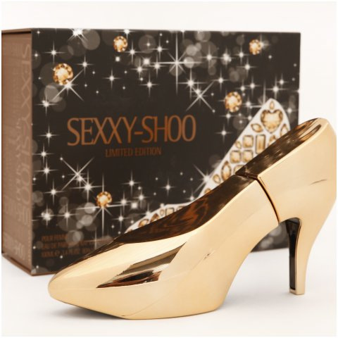 Sexxy-Shoo Limited Edition - Gold